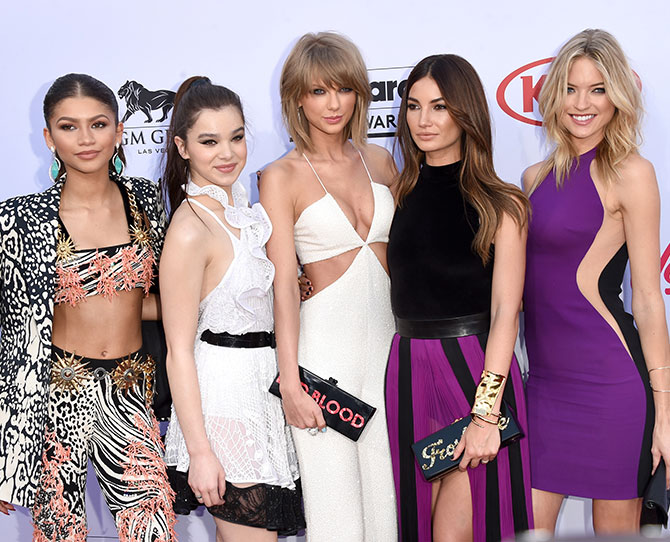 Best dressed at the Billboards 2015