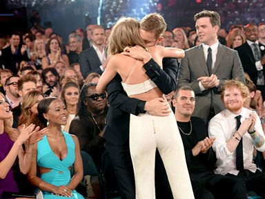 Watch: Taylor Swift and Calvin Harris' cuteness at the Billboards