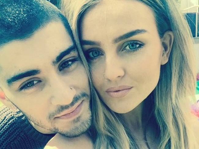 WATCH: Zayn and Perrie duet using HeliumApp