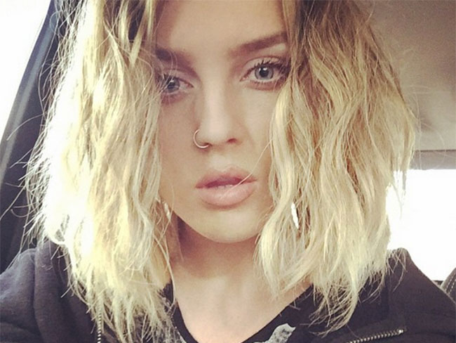 Perrie Edwards unveils new bob
