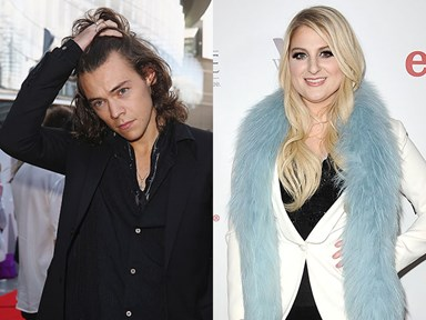 Very important Harry Styles and Meghan Trainor news