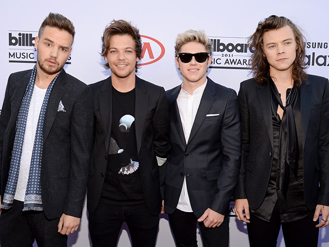 One Direction 'fess up to being booed onstage