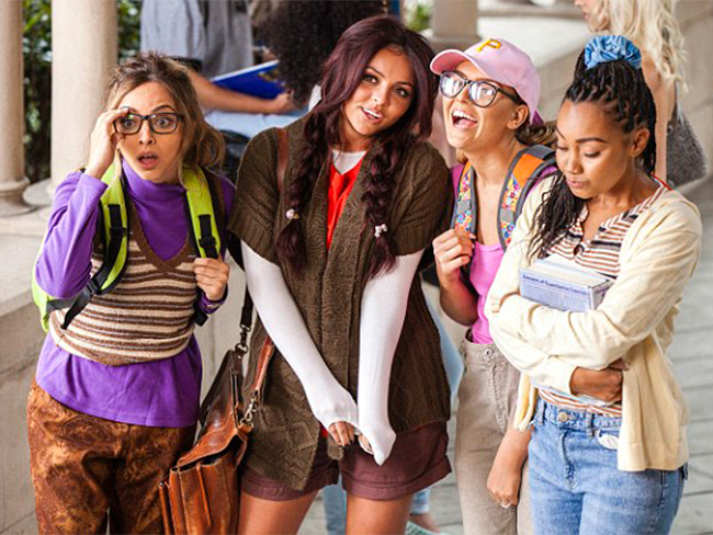 First look: Little Mix geek it up for new video