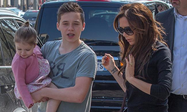 Brooklyn and Harper Beckham's most adorable moments together