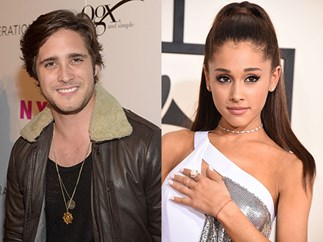 Is Ariana Grande dating Diego Boneta?