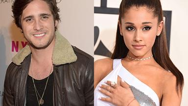 Is Ariana Grande dating Diego Boneta?