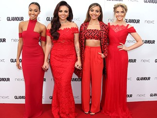 Little Mix are fangirling so hard at the Glamour Awards…