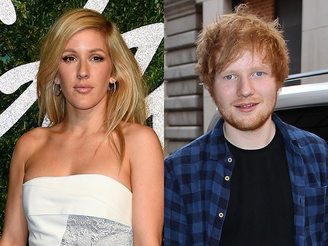 Ellie Goulding finally spilled on THAT Ed Sheeran song