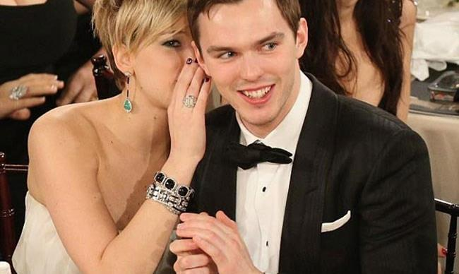 Is Nicholas Hoult trying to get Jennifer Lawrence back?!
