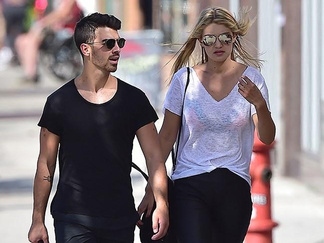 Did Joe Jonas' mum just out his relationship with Gigi Hadid?