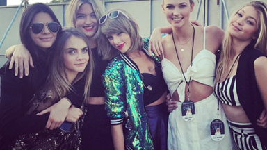 Taylor Swift majorly upped her #SquadGoals game in London