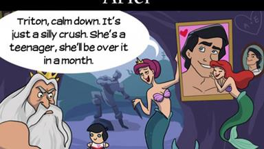 If Disney princesses had mums...