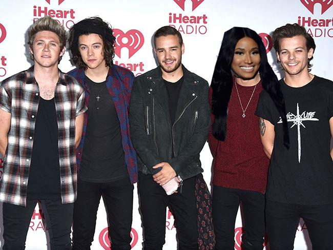Nicki Minaj to work with One Direction?!