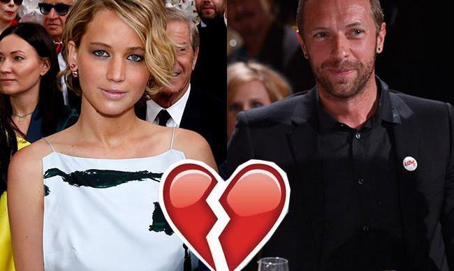 Jennifer Lawrence and Chris Martin have broken up for realsies