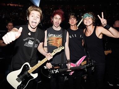 5SOS talk riders, pre-show rituals and how to catch their eye from the crowd