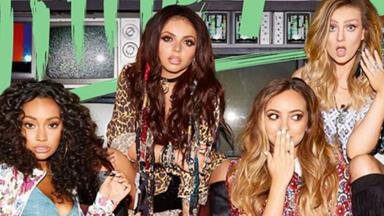 See Little Mix storm out of an interview