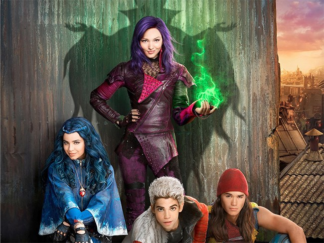 Descendants Disney poster