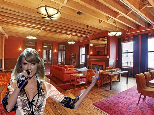 Taylor Swift's apartment is bigger than all of our hopes and dreams combined