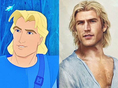 What Disney Princes would look like IRL