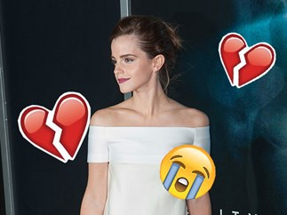 Emma Watson's way of getting over a break-up is kinda bizarre