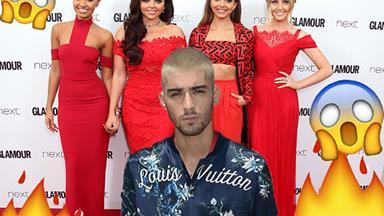 Zayn Malik just publically threw a tonne of shade at Little Mix