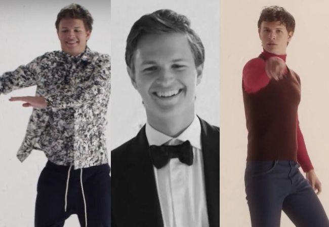 Watch: Ansel Elgort dancing through the decades is the greatest thing you'll watch all week