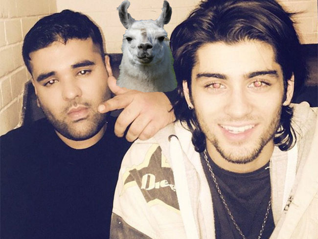 Naughty boy *might* be writing a diss track about Zayn Malik