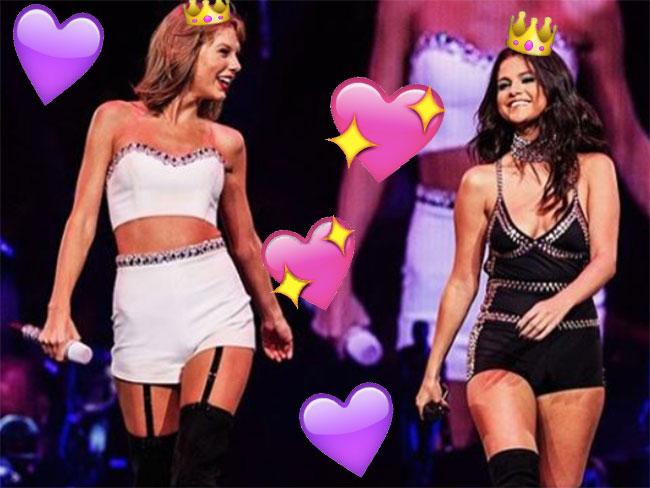 Selena Gomez and Taylor Swift just had the duet of your dreams