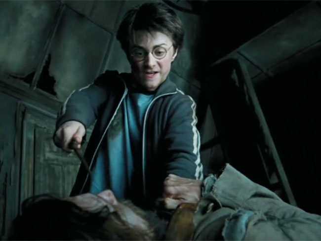 Harry Potter as a villain will actually give you nightmares