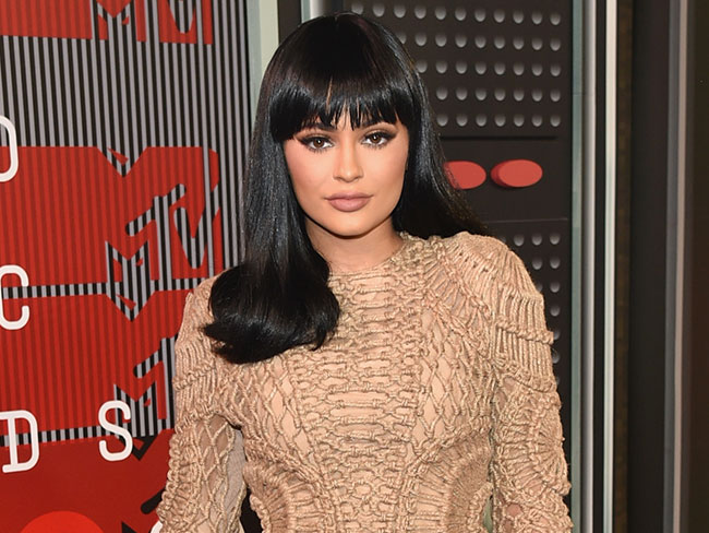Kylie Jenner gives us a sneak peek of her upcoming make-up range!