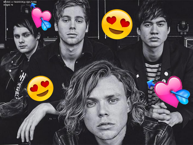 5SOS are on the cover of Notion Magazine and they look magnificent