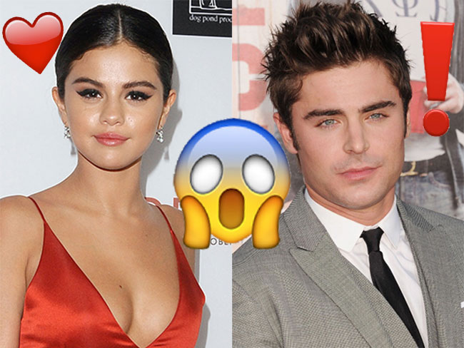 Selena Gomez and Zac Efron are making a movie together!