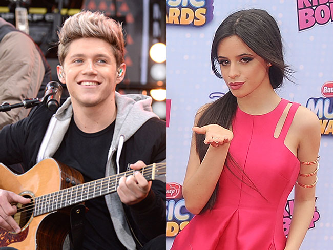 Niall Horan posts instagram hanging out with Camilla Cabello