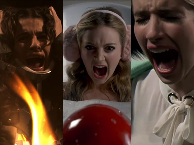 The scream Queens opening sequence is here and we're already trying to figure out who the killer is
