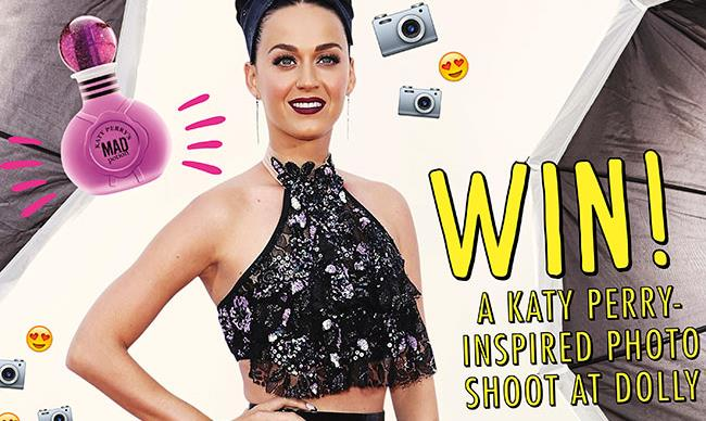 Win a Katy Perry inspired photo shoot!
