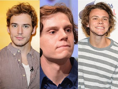 This tumblr theory reckons Sam Claflin, Evan Peters and Ashton Irwin are actually secret brothers