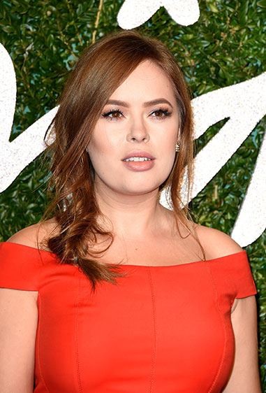 **Tanya Burr's messy fishtail.** Start off with a side pony tail and twist into an imperfect fish tail braid. Next, tease your pony and finish off with some sea salt spray for extra texture. #MermaidLyf