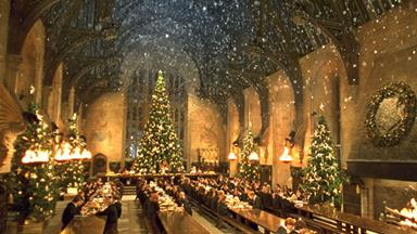 You can feast at the Hogwarts Great Hall this Christmas