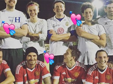 Harry Styles and Brooklyn Beckham played soccer together and it's too much