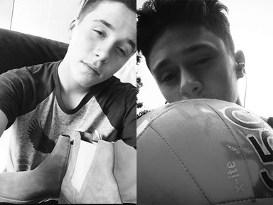 This 14-year-old looks EXACTLY like Brooklyn Beckham