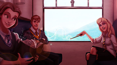 Disney Princesses as Hogwarts Students the magical collaboration we've been waiting for