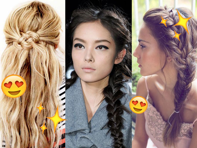 16 braided hairstyles to try for school tomorrow