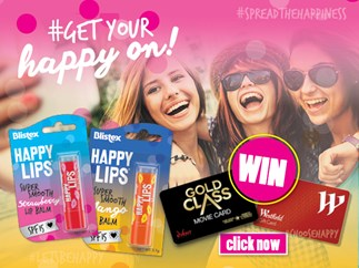 #Getyourhappyon & Win with Blistex!