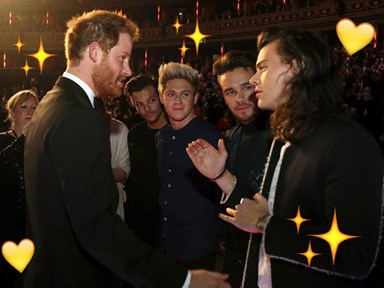 Prince Harry asked Harry Styles when he plans on cutting his hair