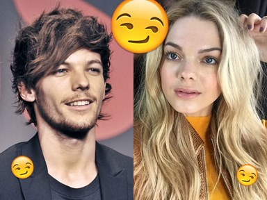 Louis Tomlinson has been ~direct-messaging~ Louisa Johnson