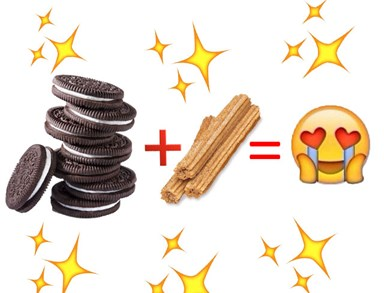Dessert hybrid alert: Oreos are now available as churros