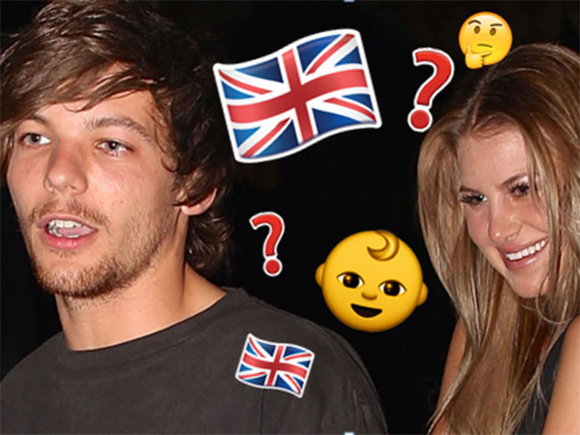 Louis Tomlinson wants to raise his bub in the UK... with baby mama Briana