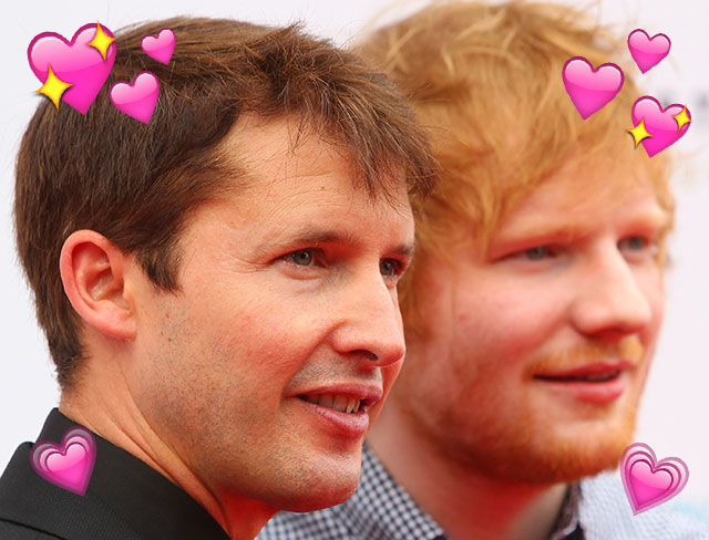 Ed Sheeran ~finally~ saw James Blunt IRL and it was a beautiful moment