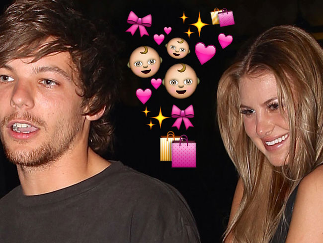 Louis Tomlinson's family spotted baby shopping with Briana Jungwirth!