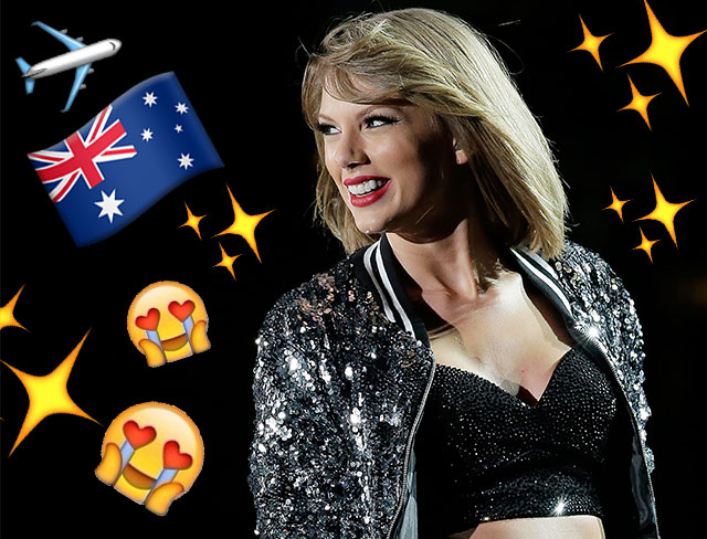 Taylor Swift goes out of her way to meet her Aussie fans